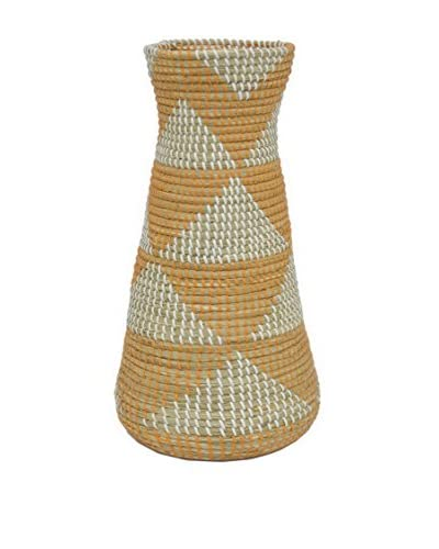 Three Hands Seagrass Vase