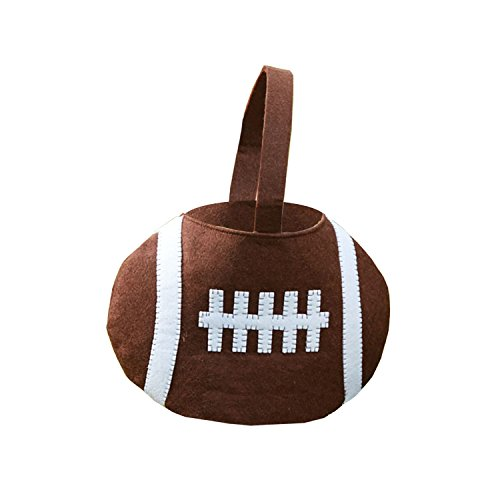 Mud Pie Easter Basket, Football - 1