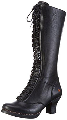 artHARLEM - Stivali alti con imbottitura leggera Donna , Nero (Nero (nero)), 38