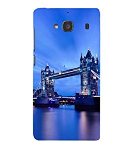 iFasho London Bridge Back Case Cover for Redmi 2S
