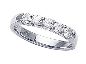 Karina B(tm) Round Diamonds Band in Platinum 950 Size 4 LIFETIME WARRANTY