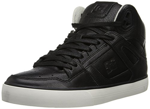 DC Men's Spartan High WC LX Sneaker,Black,7.5 M US