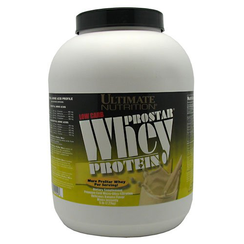 Ultimate Nutrition ProStar Whey Protein Banana 5lb
