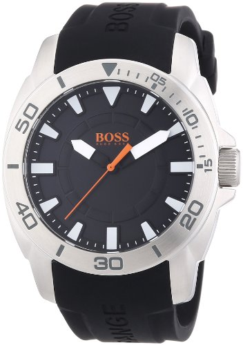 Boss Orange Men's Watch XL Analogue Quartz Silicone 1512948 Big Day