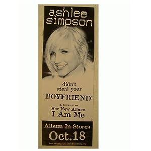 Ashlee Simpson Poster Face Shot Jessica sister