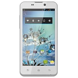 "BQ Aquaris 4.5 - Smartphone libre Android (pantalla 4.5"", cámara 8 Mp, 4 GB, Dual-Core 1 GHz, 1 GB RAM), blanco - Kit con tarjeta microSD de 32 GB"