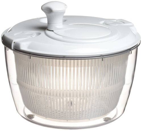 Xtraordinary Home Products Xtraordinary Home Products Large Salad Spinner, White