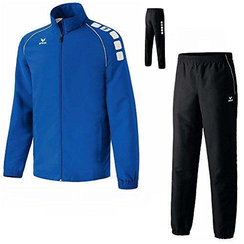 Erima 5-Cubes Trainingsanzug Jogginganzug Kinder & Herren versch, Farben, Grösse:S;Farben:Blau