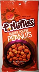 P-Nuttles Butter Toffee Variety (Pack of 2) (Butter Toffee)