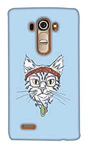 Print Haat Back Case Cover for LG G4 (Multicolor)