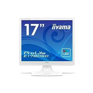 【クリックで詳細表示】iiyama ディスプレイ モニター E1780SD-W1 17インチ/SXGA/LED/スクエア型