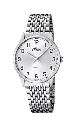 Lotus orologio uomo acciaio