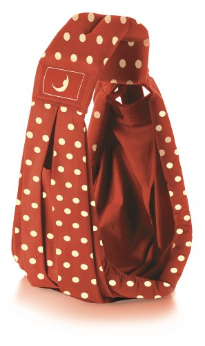 We-Made-Me-theBabaSling-Classic-Baby-Carrier-Polka-Red