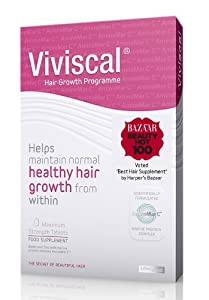 Viviscal extra strength Hair Renewal System for Hair Loss-60 Tablets
