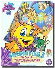 Freddi Fish 3: Case of the Stolen Conch Shell (Jewel Case)