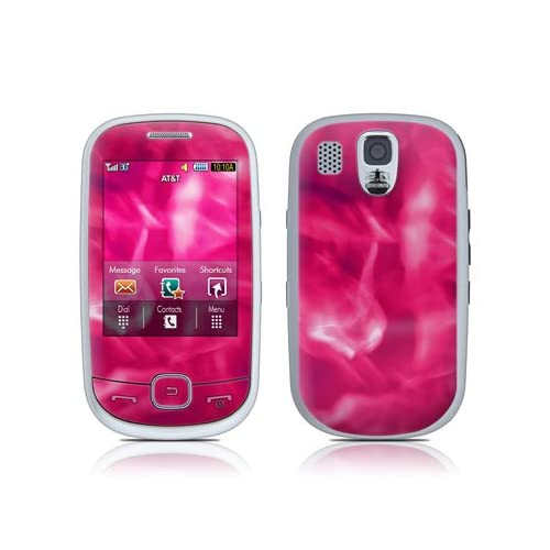 Pink Plasma Design Protective Skin Decal Sticker for Samsung