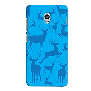 ColourCrust Lenovo Vibe P1 Mobile Phone Back Cover With Animal Pattern Style - Durable Matte Finish Hard Plastic Slim Case