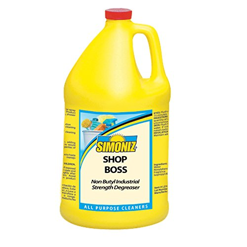 Simoniz S3252004 Shop Boss Heavy Duty Cleaner and Degreaser, 1 gal Bottles per Case (Pack of 4) (Simoniz Pressure Washer compare prices)