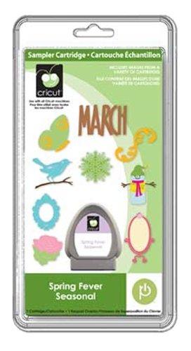 Spring Fever Seasonal Cricut Sampler Cartridge