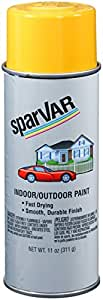 SparVar S151 Bright Yellow (Equipment Yellow) Automotive and General Purpose Paint - 11 oz.