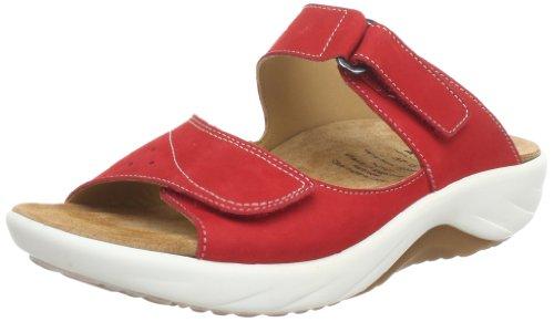 Ganter AKTIV Genda, Weite G 5-204082-40000, Damen Clogs & Pantoletten, Rot (red 4000), EU 42
