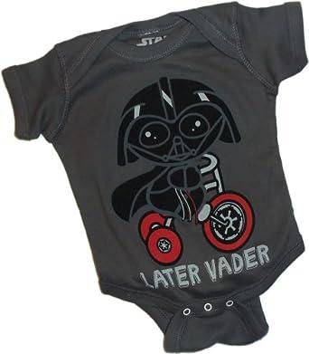 Later Vader -- Darth Vader -- Star Wars Infant One-Piece Snapsuit, 24 Months