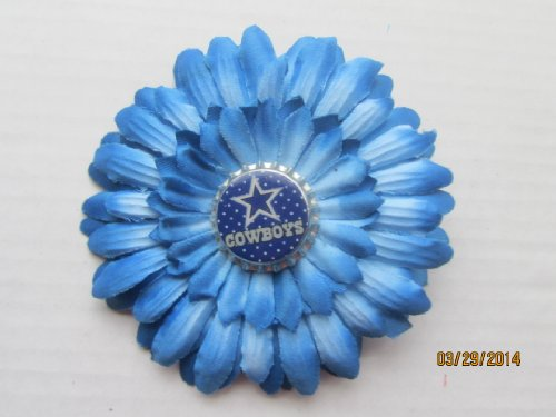 Dallas Cowboy Flower Hair Clip at Amazon.com