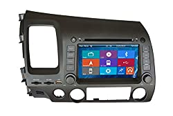 See Crusade Car DVD Player for Honda Civic 2006-2011 Support 3g,1080p,iphone 6s/5s,external Mic,usb/sd/gps/fm/am Radio 7 Inch Hd Touch Screen Stereo Navigation System+ Reverse Car Rear Camara + Free Map Details