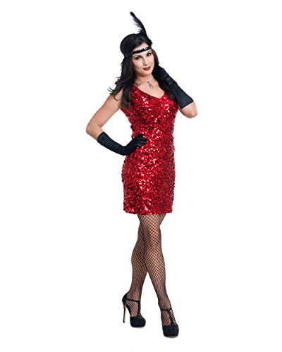 Charades Womens 1920s Flapper Costume