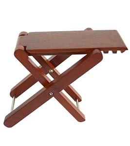 Amazon Com Cordoba Folding Wood Folding Footstool
