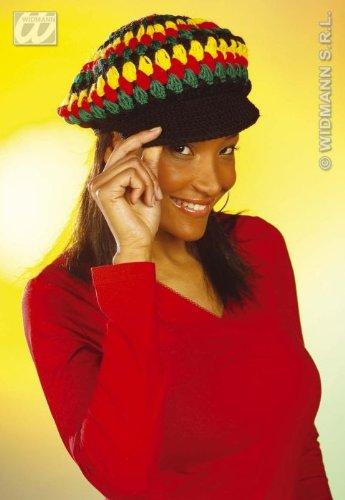 Reggae Rasta Mütze Slouch Afrika Mützen Rastamütze Reggaemütze Rastafari Jamaika Fasnet Fasnacht Strickmütze