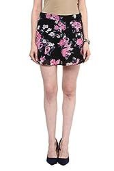 MARTINI Floral Print Georgette Skirt