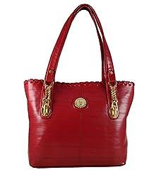 Regalovalle Women's Handbag (Red,Rv-13)