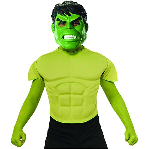 Hulk Muscle Chest Kids Costume Kit - One Size