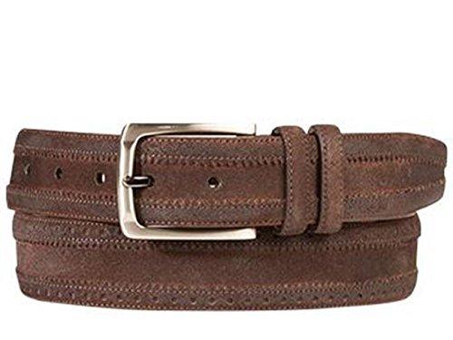 Mezlan Mens Ao10242 Belt , Brown, 36 Medium (AO10242)