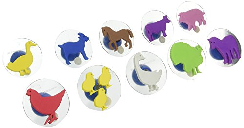 center-enterprise-ce6739-ready2learn-giant-farm-animals-stamps-pack-of-10