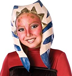 Star Wars Animated Ahsoka Character Headpiece Mask