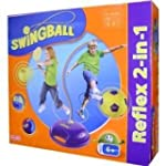 Mookie Swingball Reflex 2-in-1 Soccer...