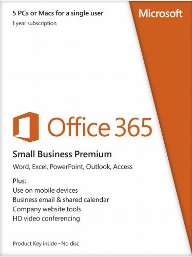 Microsoft Office 365 Small Business Premium 1Yr Subscription [Download]