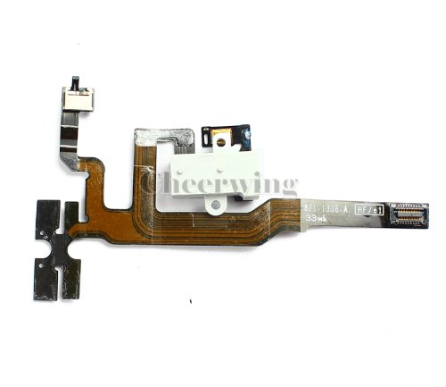 Oem White Headphone Audio Jack Flex Cable Replacement For Iphone 4S
