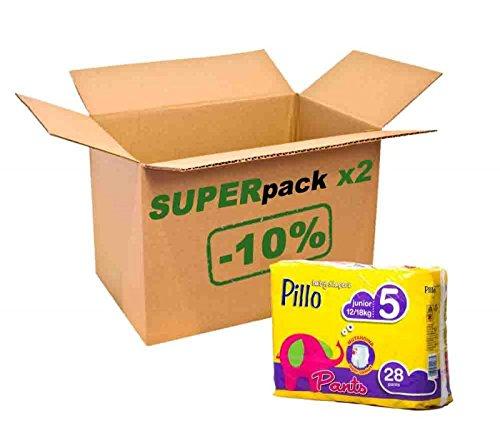 Super-Pants Junior Pillo 56 pannolini 12-18 kg