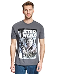 Pure Cotton Star Wars Poster T-Shirt