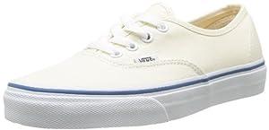 Vans U AUTHENTIC Unisex-Erwachsene Sneakers, WeiÃY/Blau, 35 EU (5.5 Erwachsene UK, 4 US)
