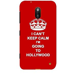Skin4gadgets I CAN'T KEEP CALM I'm GOING TO HOLLYWOOD - Colour - Red Phone Skin for NOKIA LUMIA 620