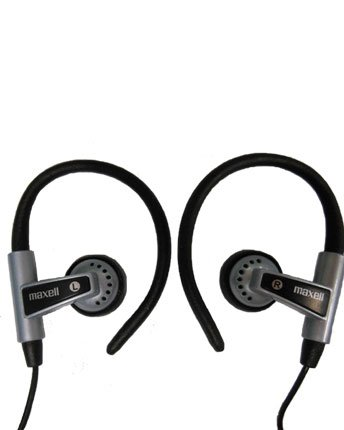Maxell Hb-375 Digital Stereo Wrap-Around Head Buds