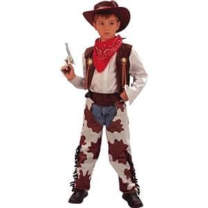Disfraz de niño de Vaquero del Lejano Oeste. 3 - 5 años