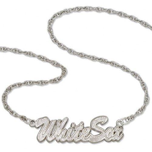 Chicago White Sox Script Necklace