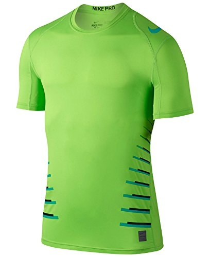 Nike Men's Pro Green Cool Fitted T-Shirt, size Large