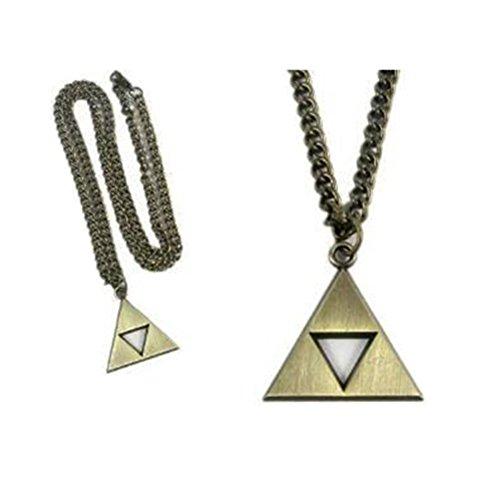 Cosplay Anime Legend of Zelda Triforce Symbol Necklace (gold)