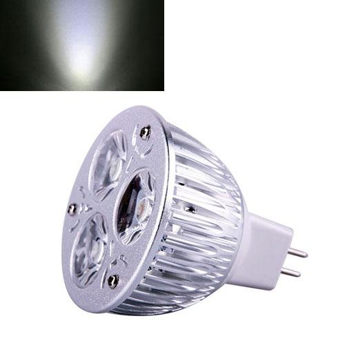 Ultra Bright Mr16 9W Led Dimmable Spot Light Downlight Lamp Bulb Pure White Fashion Partical